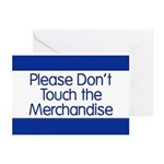 Don't Touch Merchandise Greeting Cards (Pk of 20)