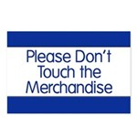 Don't Touch Merchandise Postcards (Package of 8)