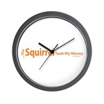 oddFrogg Squirrel Poker Wall Clock
