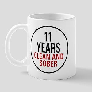 11 Years Clean & Sober Mug