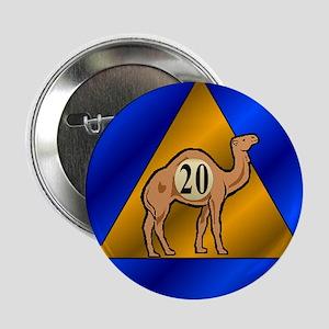 """Sober Camel 20 2.25"""" Button"""
