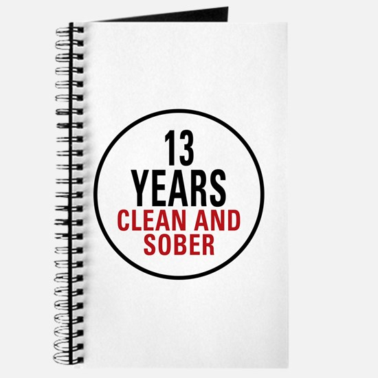 13 Years Clean & Sober Journal
