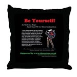 Article 14 Be Yourself Throw Pillow