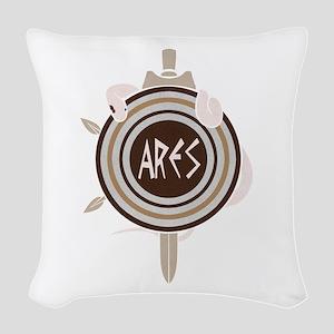 Ares Woven Throw Pillow