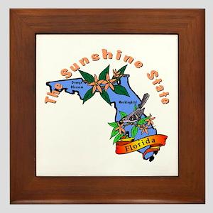"""""""Florida Pride"""" Framed Tile"""