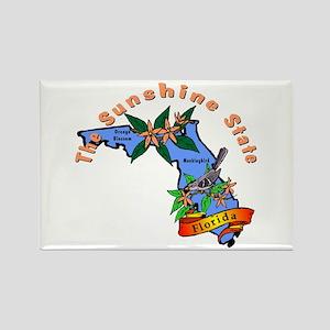 """Florida Pride"" Rectangle Magnet"