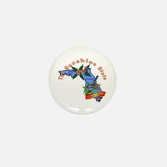 """""""Florida Pride"""" Mini Button"""