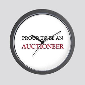 Proud To Be A AUCTIONEER Wall Clock