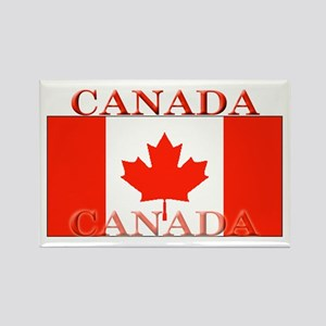 Canada Canadian Flag Rectangle Magnet