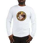 Santa's American Eskimo #5 Long Sleeve T-Shirt