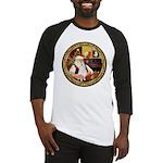 Santa's American Eskimo #5 Baseball Jersey