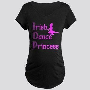 Irish Dance Princess - Maternity Dark T-Shirt