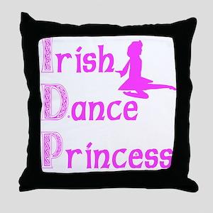 Irish Dance Princess - Throw Pillow