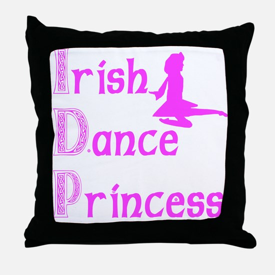 Irish Dance Princess - Throw Pillow