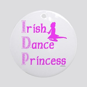 Irish Dance Princess - Ornament (Round)