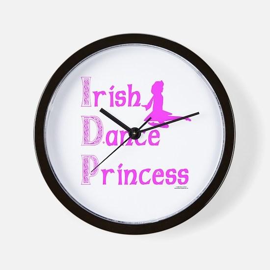 Irish Dance Princess - Wall Clock