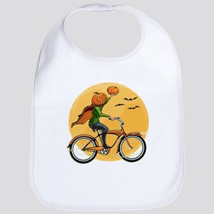Pumpkin Delivery Bib