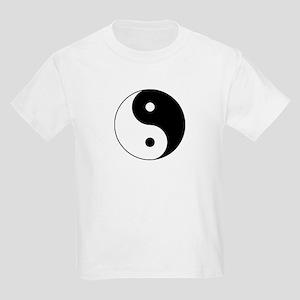 Traditional Yin & Yang Kids Light T-Shirt