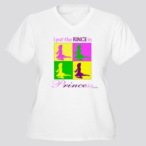 Rince in Princess - Women's Plus Size V-Neck T-Shi