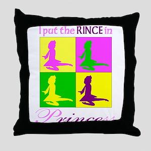 Rince in Princess - Throw Pillow