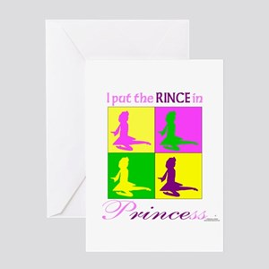 Rince in Princess - Greeting Card