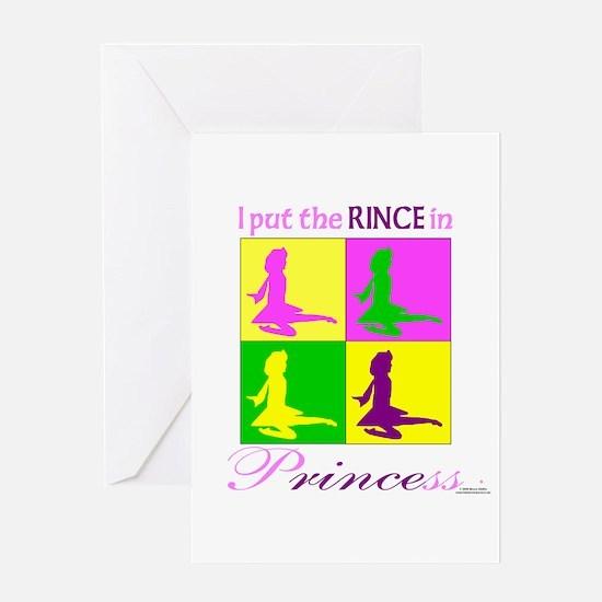 Rince in Princess - Greeting Card