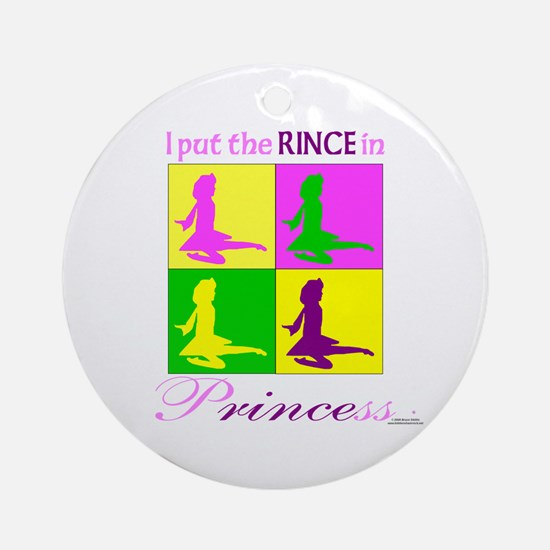 Rince in Princess - Ornament (Round)