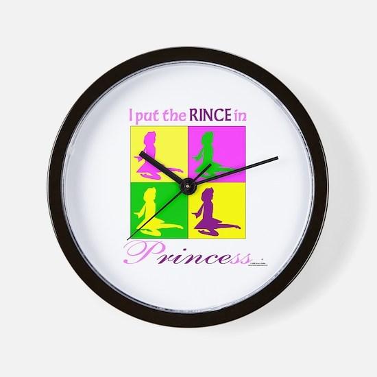 Rince in Princess - Wall Clock