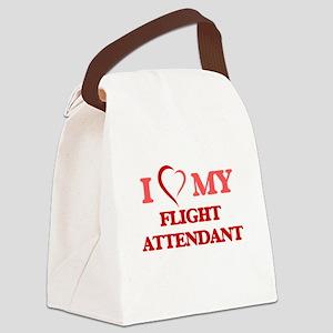I love my Flight Attendant Canvas Lunch Bag