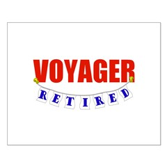 Retired Voyager Posters