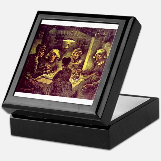 Van Gogh Potato Eaters Keepsake Box