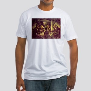 Van Gogh Potato Eaters Fitted T-Shirt