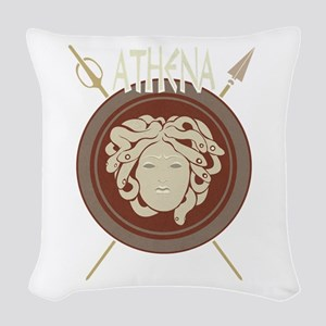 Athena Woven Throw Pillow