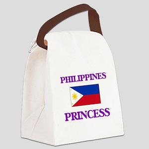 Filipino Princess Canvas Lunch Bag