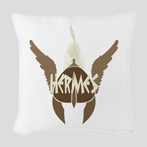 Hermes Woven Throw Pillow