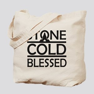 Stone Cold Blessed Tote Bag