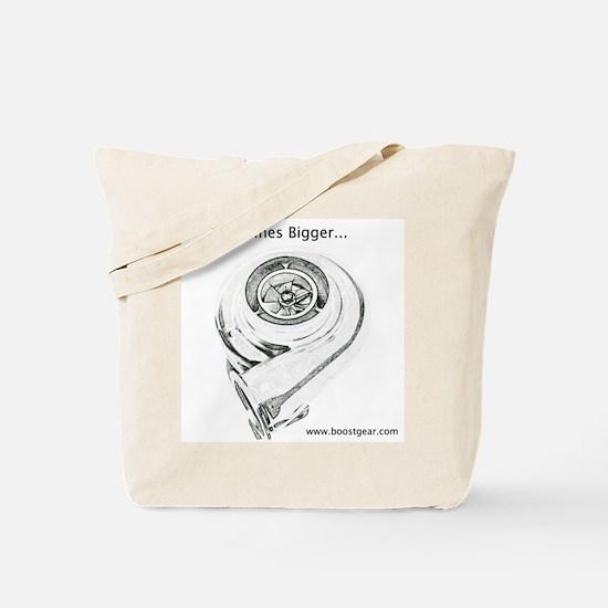Boost Gear - Mines Bigger - Racing Tote Bag
