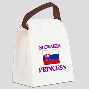 Slovakian Princess Canvas Lunch Bag