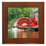 Big Wheel Framed Tile