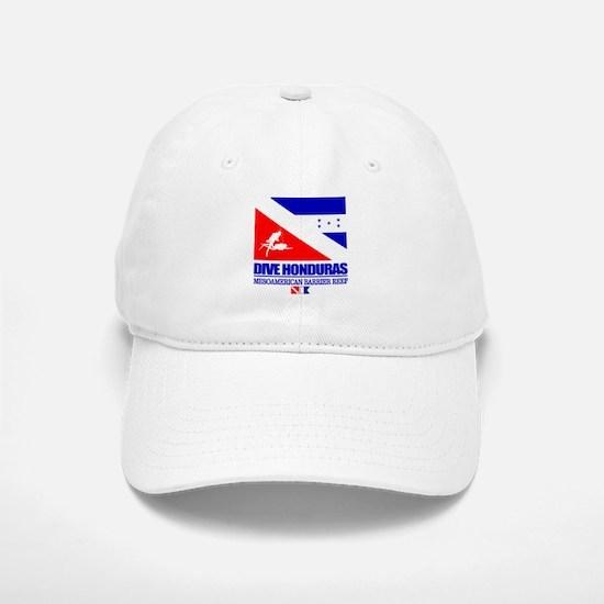 Dive Honduras Baseball Baseball Baseball Cap