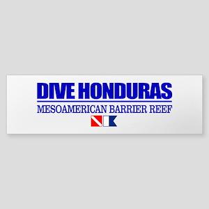 Dive Honduras Bumper Sticker