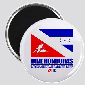 Dive Honduras Magnets
