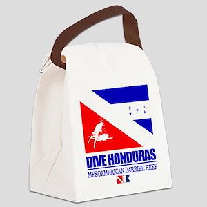 Dive Honduras Canvas Lunch Bag