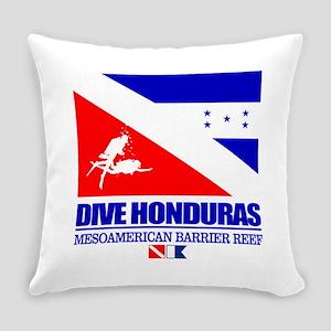 Dive Honduras Everyday Pillow