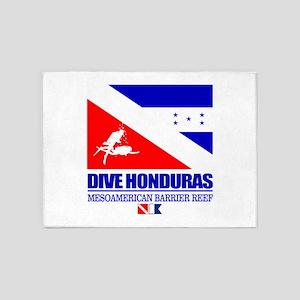 Dive Honduras 5'x7'Area Rug