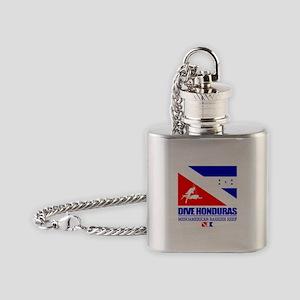 Dive Honduras Flask Necklace