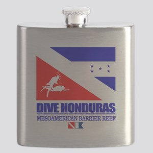Dive Honduras Flask