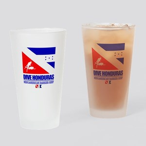 Dive Honduras Drinking Glass