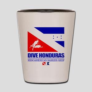 Dive Honduras Shot Glass