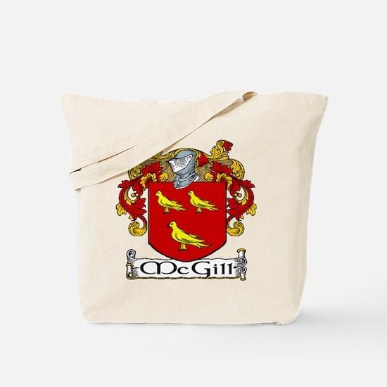 McGill Coat of Arms Tote Bag